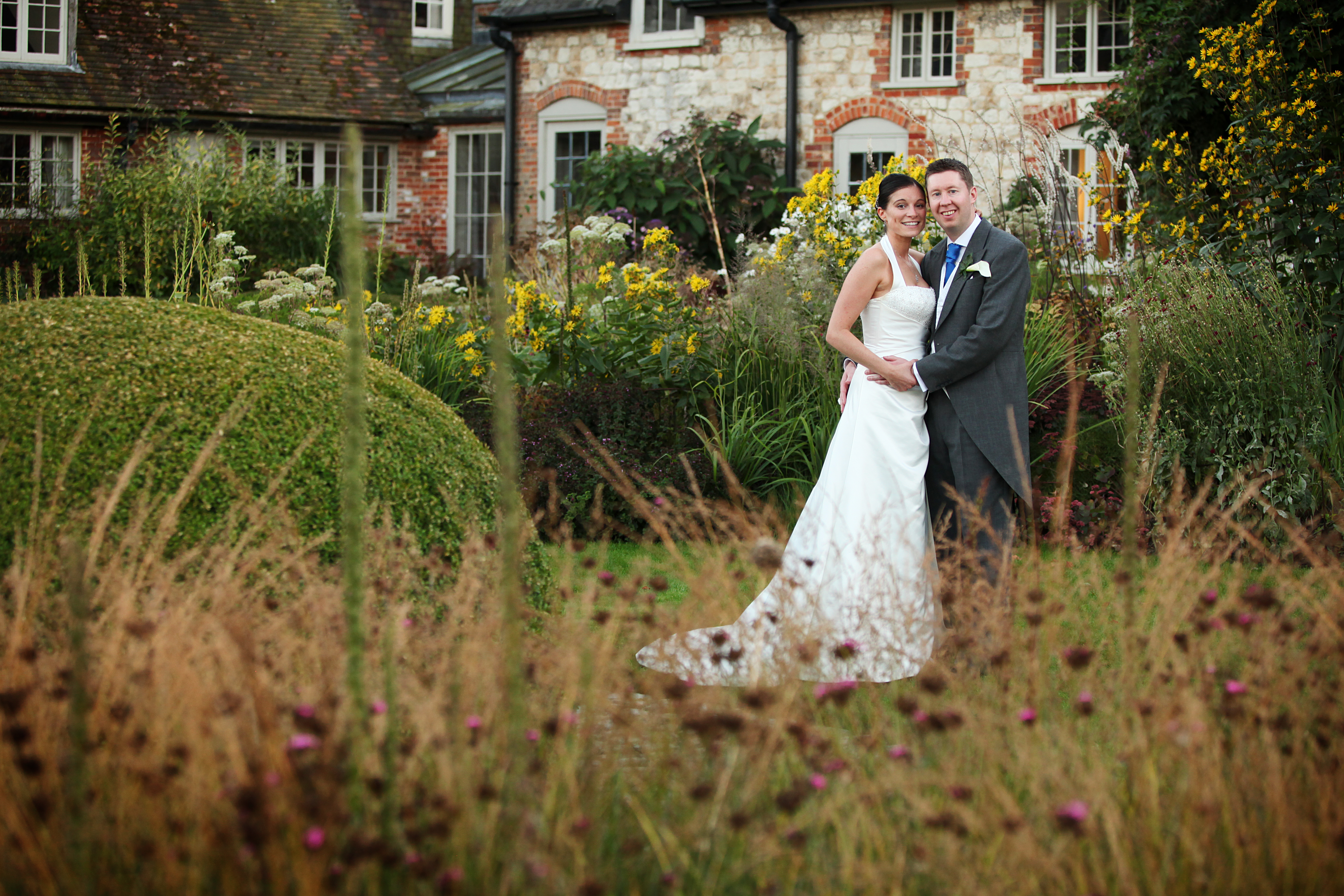 Chris & Stuart tie the knot at Bury Court Barn