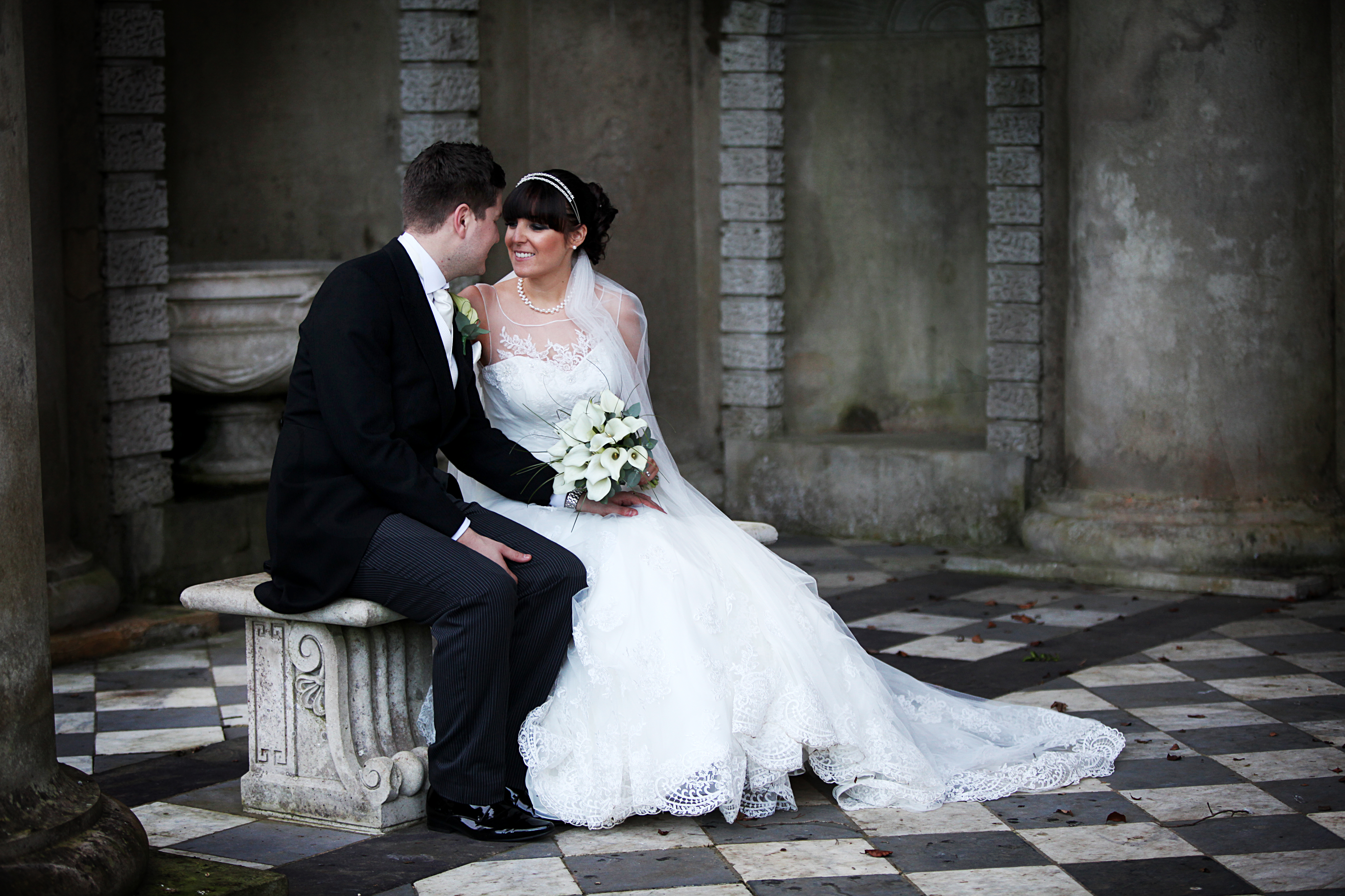 Claire & Jamie's beautiful Winter Wedding at Wooton House